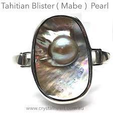 sterling silver crystal heart bracelet images Tahitian blister pearl bracelet 925 sterling silver crystal heart JPG