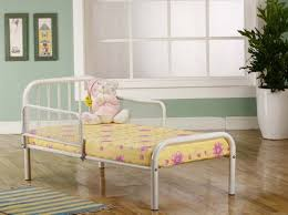 Toddler Bed White Nice Metal Frame Toddler Bed White U2014 Room Decors And Design