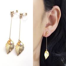 clip on earings best 25 clip on earrings ideas on pierced earrings