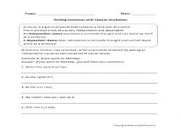 englishlinx clauses worksheets u2013 guillermotull com