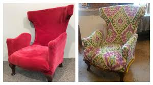 Ikat Armchair My Top Ten Favourite Chair Makeovers U2013 Carnival Of Colour