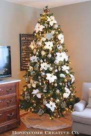Elegant Christmas Tree Decorating Ideas 2013 by 12th And White Christmas 2013 Living And Dining Room