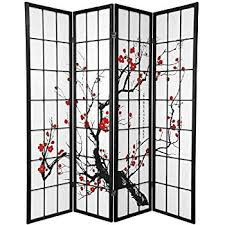 Risor Room Divider Amazon Com Legacy Decor 4 Panel Natural Room Divider Shoji Screen