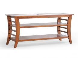 furnitures wood sofa table unique baxton studio allison honey