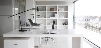 Furniture For Offices by White Office Desk Modrest Stanford Modern White Office Credenza
