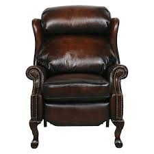 barcalounger danbury ii leather recliner with nailheads hayneedle