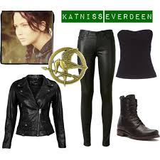 Katniss Everdeen Costume Katniss Everdeen Mockingjay Polyvore