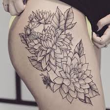 floral tattoo meanings custom tattoo design