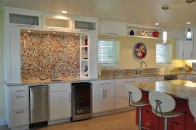 glass mosaic tile kitchen backsplash ideas kitchen backsplash photos creative mosaic tiles with countertops