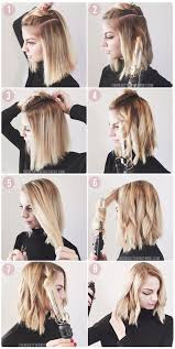 how to get loose curls medium length layers how to style a lob or a bob lob bobs and tutorials