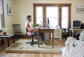 bureau de travail maison avoir bureau à la maison comment bien se discipliner au