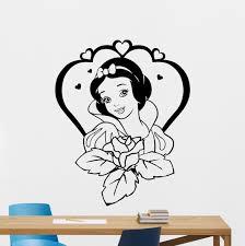 wall decals stickers home decor home furniture diy snow white wall decal seven dwarfs cartoon vinyl sticker art decor mural 36crt