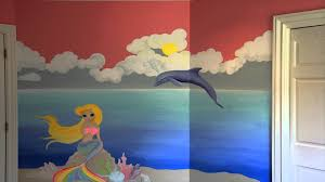 mermaid dolphin sea shore mural time lapse 1080p high qual mov mermaid dolphin sea shore mural time lapse 1080p high qual mov