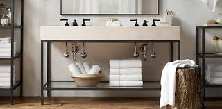 Restoration Hardware Bathroom Mirrors Bath Collections Rh