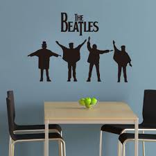 Graffiti Wall Art Stickers Popular Beatles Wallpaper Buy Cheap Beatles Wallpaper Lots From