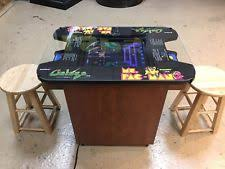 ms pacman cocktail table ebay