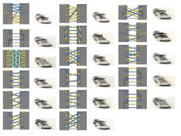 shoelace pattern for vans cool shoelace styles for converse how to shorten your laces the