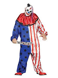 Killer Clown Costume Killer Clown Mask Mens Scary Clown Costumes Oya Costumes