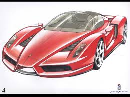 supercar drawing enzo ferrari the epitome of supercars notoriousluxury