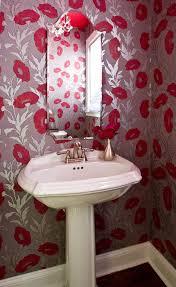 Make An Iconic Wall With Floral Palm And Banana Leaf Wallpaper - Poppy wallpaper home interior