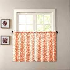 24 Inch Kitchen Curtains Marvelous Orange Kitchen Curtains Drapes Drapes Kitchen Drapes And