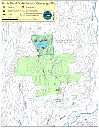 Pennsylvania State Parks Map by Hunts Pond State Forest Map Nys Dept Of Environmental Conservation