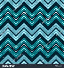 blue color palette abstract seamless geometric zigzag pattern blue stock vector