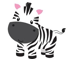 baby shower zebra clipart clipartxtras