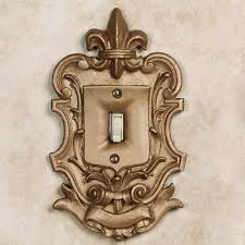 royal fleur de lis large switchplates