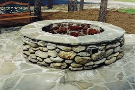 Fire Pit Lava Rock by Landscape Products