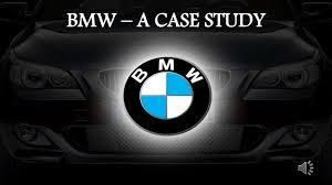 tagline of bmw bmw a study