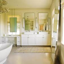 Master Bathroom Mirrors by Mirror In Front Of Window Transitional Bathroom Nb Design Group