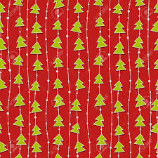 christmas pattern red green red christmas pattern with green christmas trees royalty free