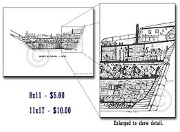 photos of mary u0026 john 1630 cross section sketch typical of a 400