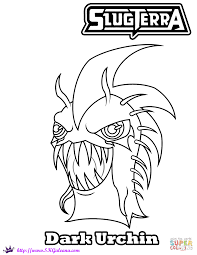 Halloween Games Printable Halloween Dark Urchin Coloring Page Free Printable Coloring Pages