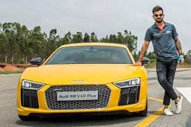 bmw open car price in india photos virat kohli launches audi r8 v10 plus its most powerful