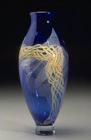 Fire Vase Ribbon Vases Fire Dancers Glass