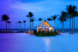 Florida Keys Beach Cottage Rentals by The Tiki Bar On The Beach At The Tranquility Bay Beach House