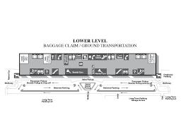 Atlanta Airport Concourse Map by Terminal Maps Piedmont Triad International Airport