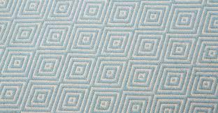 teppich 300x300 blue rug large flatweave geometric 160 x 230cm rhea made com