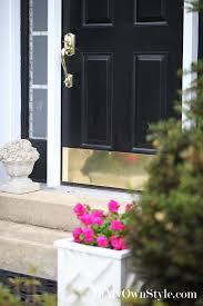 Exterior Door Kick Plate Dress Up Your Doors In My Own Style