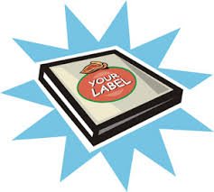 personalized pizza boxes pizza box labels