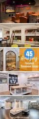 45 amazing luxury finished basement ideas basements spaces and