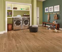 Laminate Flooring In Laundry Room Rustic Laundry Room Transitional With Hardwood Floor Orange County