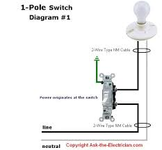 how to wire up a light switch diagram gooddy org