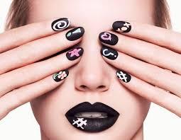 easy nail art designs for short nails polish