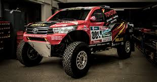 lexus v8 hilux for sale toyota gazoo racing unveil 2017 dakar rally hilux evo racer 5 0