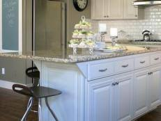 How To Glaze Cabinets Distressed And Antiqued Kitchen Cabinets Hgtv