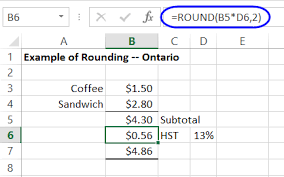 rounding integer numbers how to use excel rounding functions