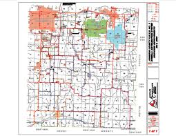 County Map Of Missouri Public Water Supply District No 3